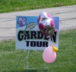 HCHS Garden Tour 2015 sign